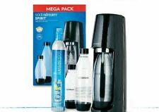 Sodastream Spirit Sparkling Water Machine Mega Pack Black Soda Stream