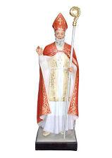 Saint Blaise fiberglass statue cm. 148