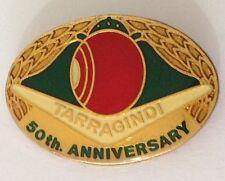 Tarragindi Bowling Club 50th Anniversary Badge Pin Vintage Lawn Bowls (L14)