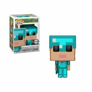 Funko Pop! Games - Minecraft - Alex In Diamond Armor Exclusive