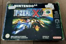 F-ZERO X - Nintendo 64 - PAL / EUROPE - COMPLETE!
