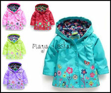Unbranded Girls' Autumn Casual Coats, Jackets & Snowsuits (2-16 Years)