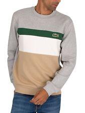 Lacoste Men's Logo Sweatshirt, Multicoloured