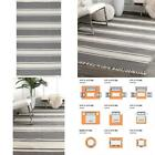Bengal Striped Dark Gray 5 Ft. X 8 Ft.  Area Rug