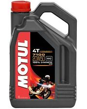 Huile MOTUL 7100 20W50 moto scooter quad Road 4 litres 4 temps 100% synthèse