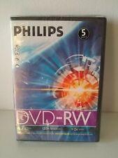 Phillips DVD RW Discs 5 pack