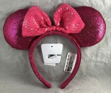 Disney Parks Minnie Mouse Bow Ears Imagination Pink Headband - New