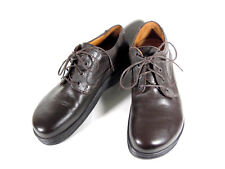 BIRKENSTOCK FOOTPRINT MEN'S BROWN LEATHER OXFORD LACE-UP SHOES  SIZE 9 N