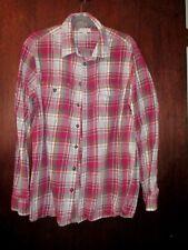 Men's Flannel shirt size XL multi color checks 100 % cotton NEW