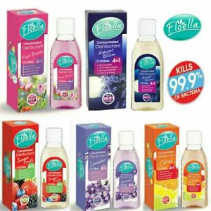 FLOELLA  Antibacterial Concentrated Disinfectant Removes Odour Mix&Match 150ml