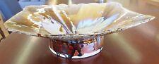 Vintage David Schneider 1981 Textured Modern Art Pottery Glaze Centerpiece Bowl