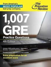 Graduate School Test Preparation: 1,007 GRE Practice Questions by Princeton...
