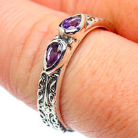 Amethyst 925 Sterling Silver Ring Size 9 Ana Co Jewelry R39037F