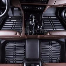 Car Floor Mats Front & Rear Liner Mat Black Waterproof For Honda accord 13-16