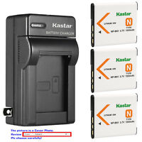 Kastar Battery Wall Charger for Sony NP-BN1 BC-CSN & Sony Cyber-shot DSC-T99