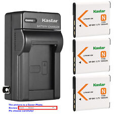 Kastar Battery Wall Charger for Sony NP-BN1 BC-CSN & Sony Cyber-shot DSC-W630