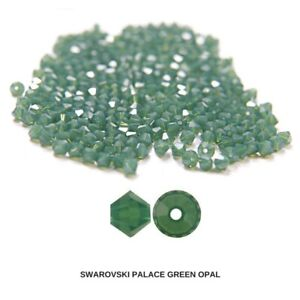 3/4/5mm Palace Green Opal Swarovski Bicone Rare beads 720 Pieces FREE SHIPPING
