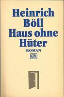 Heinrich Böll / Haus ohne Hüter / Buch