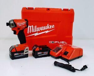 "Milwaukee 2760-22 M18 Fuel SURGE 1/4"" Hex Impact Driver Compact Kit"