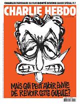 journal / Charlie Hebdo n°1184 du 01/04/2015