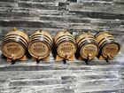 3 Liter Oak barrel with Black hoops for whiskey or spirits Keg