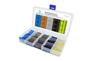 Schrumpfschlauch Sortiment DIN VDE 0293-308 Farbcode 100 Stück hohe Schrumpfrate