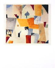 Paul Klee Fenster Poster Kunstdruck Bild 50x40cm - Kostenloser Versand
