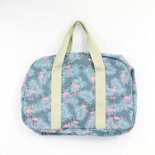 Flamingo Blue Overnight Maternity Weekend Travel Hand Luggage Bag