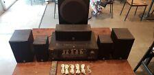 Yamaha HTR-6030 Natural Sound AV Receiver Bundle W/ Remote 5 Speakers Subwoofer