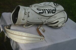Ping staff Golf Bag leather With 6 Way Divider