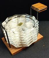 Untersetzer Blei Kristall France Reims - 6 Stück im Ständer