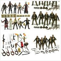 Lot 10X Indiana Jones WILLIE SCOTT TEMPLE Short round & Crystal Skull figure toy