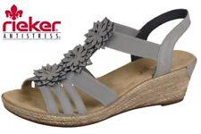 Rieker 62461-43 Damen SANDALEN grau (dust/staub 43) EU 39