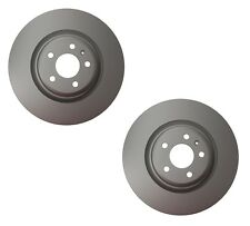 Pair Set of 2 Front Ate Brake Disc Rotors Vented For Audi A6 Quattro Q5 S4 S5
