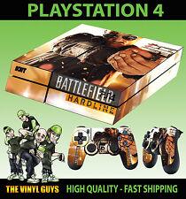 PS4 skin Champ de bataille Hardline moderne guerre Main Gun AUTOCOLLANT + PAD