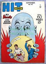 Golden Age HIT COMICS #42 Quality Comics KID ETERNITY Heaven Can Wait  BIG PICS