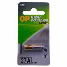 GP A27 Alkaline 12V battery 2 pieces (L828 MN27 27A) UK Use by 2018