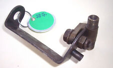 British auto brake line brass union (fitting) on special steel bracket-Used