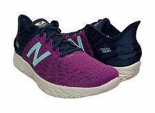 New Balance Women's Fresh Foam Beacon V2 Running Athletic Shoes Purple Blue