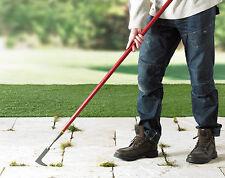 Strumento Telescopico pavimentazione Estirpatore ERBA Remover giardino veranda vialetto percorso Solette ***