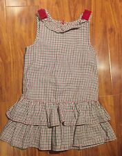 Gymboree Girls Jumper Houndstooth Dress from Holiday Memories Collection Size 5