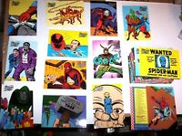 1998 MARVEL THE SILVER AGE SKYBOX COMPLETE BASE 100 CARD SET STAN LEE JACK KIRBY
