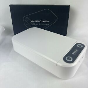 USB Cell Phone UV Sterilizer Sanitizer Box Disinfection Case Cleaner