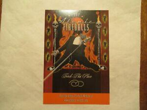 The Atomic Fireballs Music Band Advertising Continental Sized Postcard