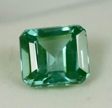 6.00 ct Faceted Grandidierite Transparent Square Cut loose Gemstone Certified