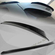 For 2011-2015 Toyota Sienna Unpainted Black ABS Rear Roof Lip Trunk Spoiler Wing