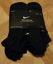 Nike Everyday Cushion No-Show Socks 6 Pack Men 8-12 Large Brand New