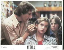 Anna Chlumsky Austin O'Brie in My Girl 2 1994 cartoon original movie photo 10380