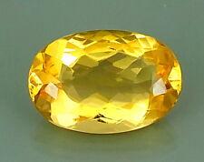 TOP CITRINE : 22,01 Ct Natürlicher Gold Gelb Bahia Citrin aus Brasilien