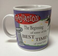 Large 20 Oz Graduation Coffee Mug Cup The Beginning Of Best Times Of Your Life